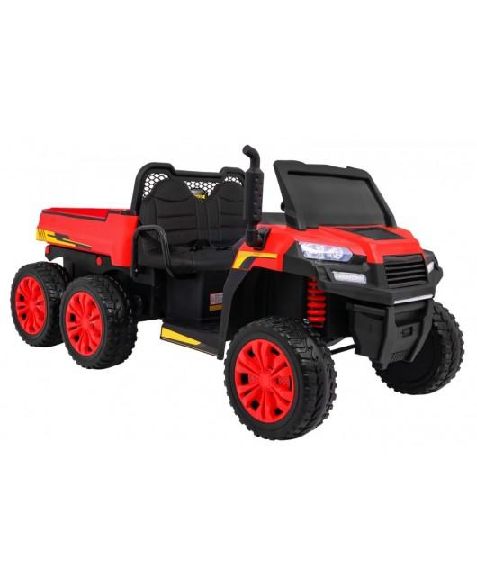 Elektrické autíčko Farmer červené